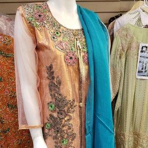 Pakistani party wear dress